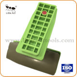 Het groene Plastic Achter Oppoetsende Oppoetsende Stootkussen van het Blok voor Graniet /Marble/Stones