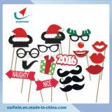 8pcs Photoprops Navidad en un Stick Kit de bricolaje