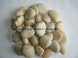 庭を舗装する庭のために&Pebble白く自然な川の石の玉石