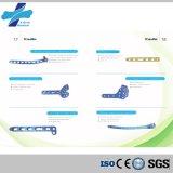 (Plate-2.7 fibulaire distal) plaque de verrouillage titanique d'implant orthopédique chirurgical