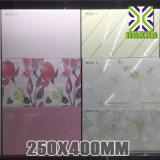 새로운 디자인 25X40 꽃 패턴 부엌 벽 도와