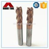 Herramientas de corte de la aleación del tungsteno de la fuente de la fábrica con cuatro flautas