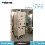 Pharmazeutisches Filtergehäuse des Luft-Filtration-Beutel-in/Bag heraus sicheres der Änderungs-HEPA