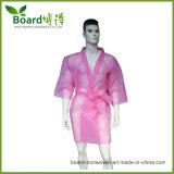 Kimono no tejido disponible, capa del BALNEARIO con color rosado