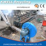Ligne chaude de granulation de découpage de PE/PP/WPC/machine de fabrication matérielle de pelletisation usine de granules