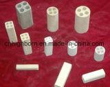 Tubi d'isolamento di ceramica dell'ossido di magnesio di 98%