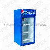 Refrigerador da cerveja com o refrigerador ajudado ventilador da bebida do sistema refrigerando do vértice