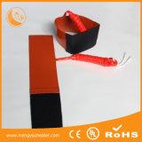 подогреватель силиконовой резины нагрева электрическим током 12V 100*100mm