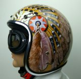 تصميم جديدة [هلف-] وجه درّاجة ناريّة/دراجة خوذة