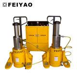 Cylindre hydraulique télescopique utilisé pour la machine lourde