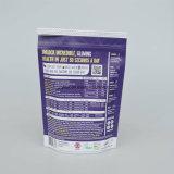 Mit Reißverschluss Aluminiumfolie-Verpacken- der Lebensmittelbeutel