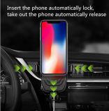 10W Qi rapide sans fil Chargeur de voiture sans fil sans fil magnétique