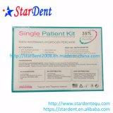 Os Dentes Dental embranquecimento de peróxido de hidrogénio Kit em um único paciente