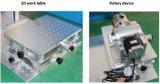 Máquina de gravura pequena da marcação do laser da fibra do metal