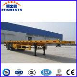 공장 해상운송 30t 3 차축 플래트홈 콘테이너 트레일러