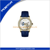 Bracelet en cuir véritable 20mm d'excellente qualité Diamond Lady montre-bracelet