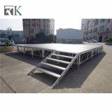 Rk bewegliches bewegliches Aluminiumstadiums-hölzerne Plattform für Ereignis