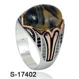 Nuevo diseño anillo de plata 925 joyas de moda para hombre