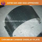 Carboneto do cromo que afronta a placa do desgaste para a máquina escavadora da mineração