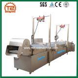 Convoyeur automatique complet Friteuse de porc de la machine de friture de convoyeur