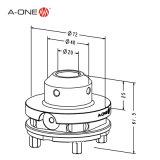 Strumenti del hardware dell'acciaio inossidabile EDM per la pressione (3A-110026)