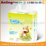 A seiva da alta qualidade arfa o tecido, calças Super-Soft do treinamento do toque, tecido descartável do bebê