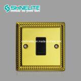 Schalter-Panel-Platte des Metallwand-Schalter-1gang der Qualitäts