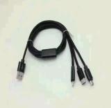 iPhone 인조 인간을%s 3in1 유형 C 케이블 USB 케이블