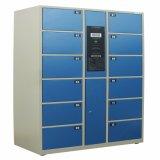 Modification de la chambre 12 portes en acier inoxydable de casiers de stockage des bagages casier de colis