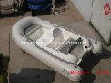 Liya casco rígido semi rígido Rib Barco Barco con fondo de la consola central