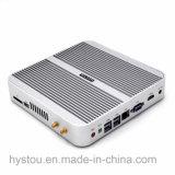 Calcolatore x86 PCIe della scheda madre di ITX di potere basso 12V di Gamer i3 6100u di desktop pc di Fanless mini