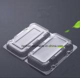 Empacotamento descartável desobstruído do fast food de PP/PVC/Pet/PS