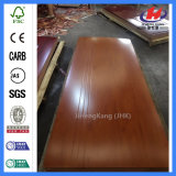 Piel especial de la puerta de la melamina de madera sólida del oscilación de Tailandia del diseño