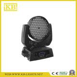 108 Licht der LED-bewegliches Hauptwäsche-RGBW