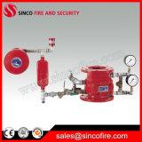 Válvula de alarma mojada para el sistema de regadera automático de la lucha contra el fuego
