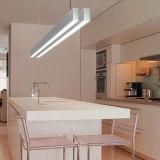 Luces lineares colgantes de la luz LED del techo de la iluminación de la oficina