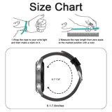 Correa de reloj del cuero genuino de la alta calidad para la venda de reloj del engranaje S3 de Samsung 22m m