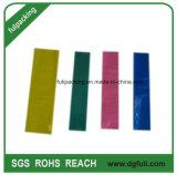 LDPE 비닐 봉투, 색깔 포장 부대가 투명한 밑바닥 밀봉 Polybag에 의하여, 생성한다