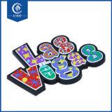 O costume do OEM possui da lembrança macia do PVC da borracha 3D do logotipo ímãs baratos do refrigerador