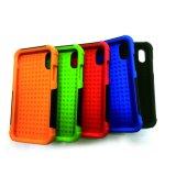 iPhone 8のための新しい到着の方法PC+Silicone携帯電話の箱