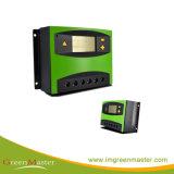 A HT30du-1024 LCD do controlador de carga Solar 4 estágio para luz de Rua