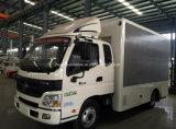 4t Foton Ouma 6 Räder LED, die mobiles Fahrzeug bekanntmachen