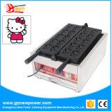 Hello Kitty numérique commerciale figure Gaufrier Cartoon Making Machine à gaufres