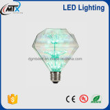 작성 Design Diamond Shape 3W LED Starry Bulb For Decoration