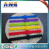 Tipo Wristband da tecla do esporte RFID do silicone MIFARE 1K