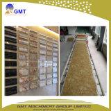 Tarjeta de mármol de imitación rígida del PVC/línea plástica de la protuberancia de la hoja