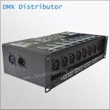 8 segnale Ditributor delle porte DMX512 dell'amplificatore del segnale dei canali DMX512 multi 8 DMX512 fuori DMX Port