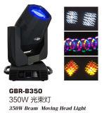 Gbr Super сквозь призму Sharpy 17r 350W перемещение головки свет освещения сцены