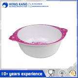 Concevoir le bol de riz unicolore normal de mélamine