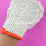 China dat Gebreide Katoenen Industriële Handschoenen, de Producten van de Arbeid werkt